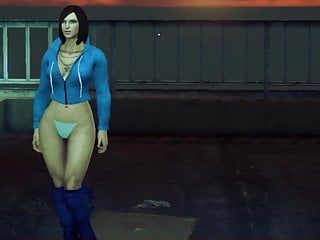 Mugen nude characters Sexy saints row 4 character showcase something different