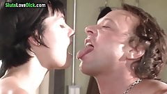 Neighborhood Whore Fucks Kevin When Wife is at Work