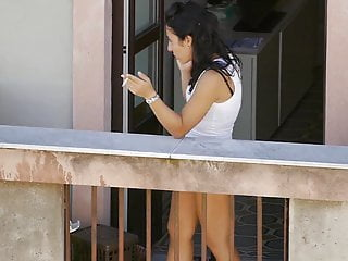 Lines on penis head Neighbor showing ass tan-lines on the balcony
