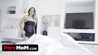 Stepson Caught Perving On His Hot Stepmom