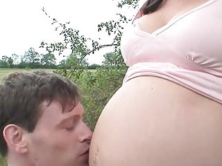 Young prego sex videos Busty prego amateur teen has hot outdoor sex