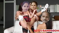 Rupali with   mom and dad