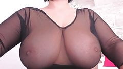 Huge tits chilling