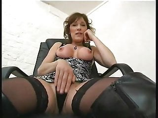 Milf brunette anal Old man and naughty milf