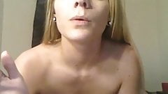 Candie Cane smoking and fucking fan