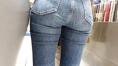 Voyeur sexy teen ass jeans 15