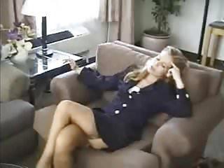 Sluts in stockings and heels videos - Cute blonde slut smoking in stockings and suspenders