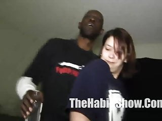 Black botty and black dick - Thick jap with a botty banged by her pimp