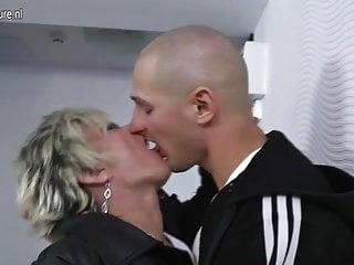 Skinny gay boys - Hot skinny grandma gets fucked by her toy boy