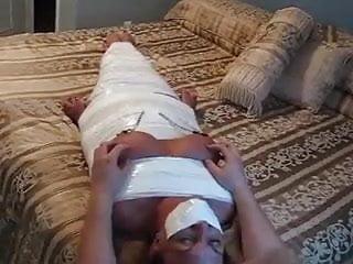 Milf tickles Taped milf bitch tickled