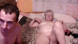 Pervert old lady loves youngs