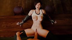 Tifa Lockhart Getting Caught In The Act
