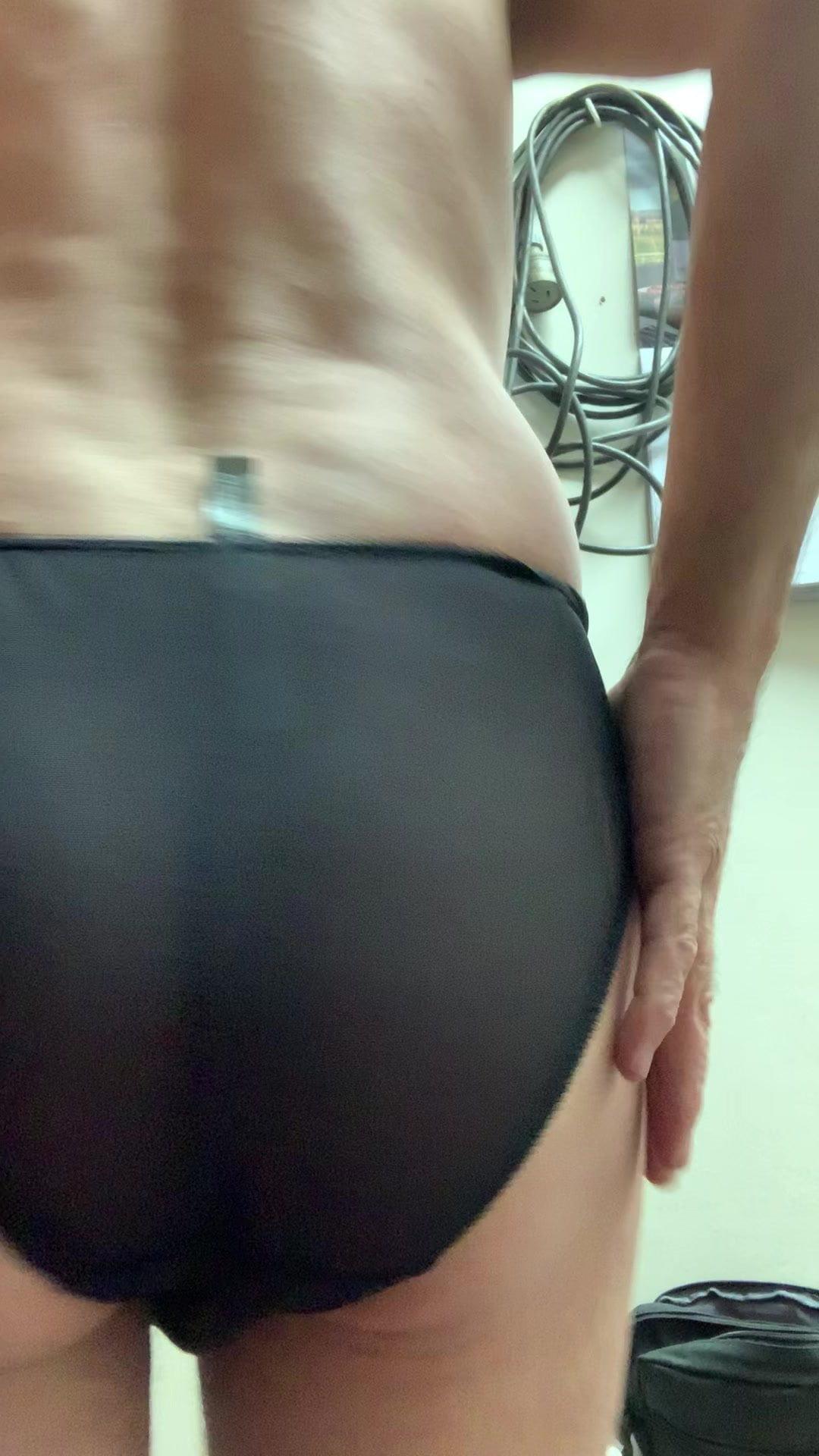 Wearing Girlfriends Panties Gif