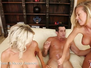 Emma starrs tits Hot blondes nicole aniston and emma starr get fucked