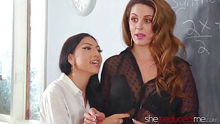 SHESEDUCEDME – Teens Judy Jolie And Madison Summers In Threesome