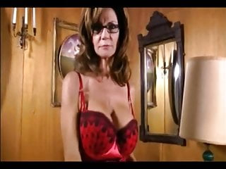 Free dominant erotica milking Hot breasted dominant milf with glasses milking slave