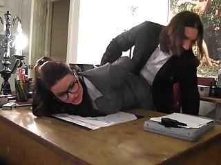 Bondage and office attire Office bondage