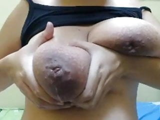 Erotic juggs pics - Huge milking juggs, inverted nipples and pussy toy play