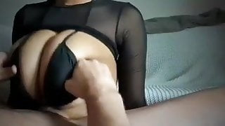 Huge tit fucking Cumshot