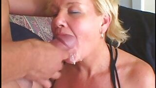 ActionMatures - Busty mature babe takes surprise fucking