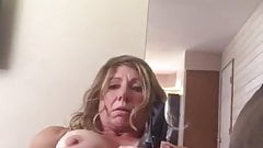 Sexy MILF Toying