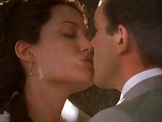 Angelina jolie lesbian love scene - Angelina jolie - original sin nude compilation
