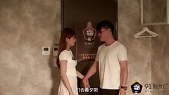 NO.1969 Chinese AV originals Sexy wife fucked by strange guy