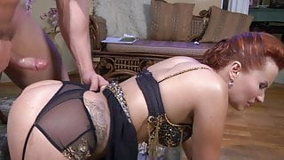 Russian Step Mom gets Anal Fucked