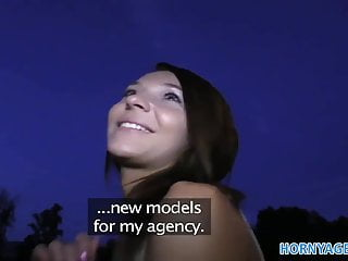 Sex striaght brown hair Hornyagent smiley brown haired cutie gets paid for sex