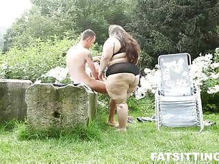 Huge ass facsitting Jitkas huge ass demands slave worship