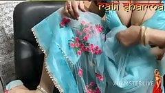 Indian bhabhi in beautiful live show