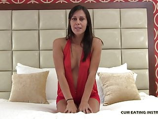 I like the taste of cum - I hope you like the taste of your own jizz cei