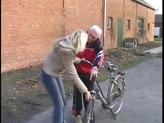 Fix to hemmeroids teen He fix the bike and get some sex for it