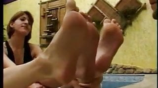 HUGO THE FOOT SLAVE