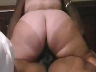 Line stripper Bbw with fat ass and tan lines destroying black dick