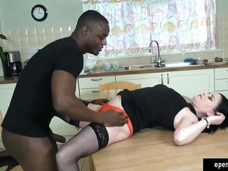Sexy brunette milf being fucked Brunette being fucked hard by big black cock bbc