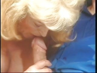 Mature women giving head - Mature blonde and brunette giving head and getting fucked