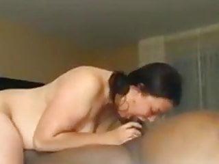 Bbw suck clips - Short clip sarah sucking a black cock