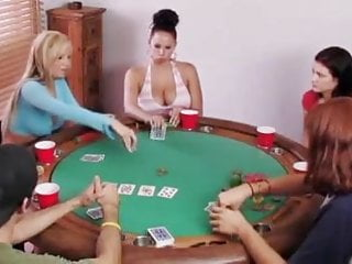 Strip poker model Small dick get humiliated in strip poker game