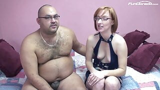 Redhead Nerd Mom went to her very first Amateur Casting