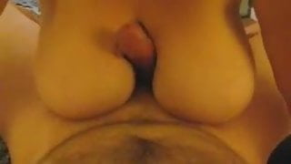 cum between stepmoms big boobs