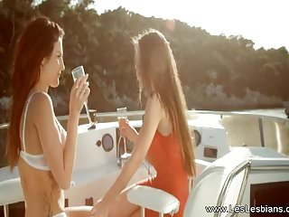 Abuse by lesbian partners - A yatch sensational fingering of lesbian partners