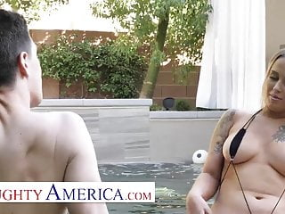 Miss america bikini competition Naughty america - layla love fucks a married man