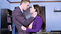 Big Tits at Work -  My Slutty Secretary scene starring Angel