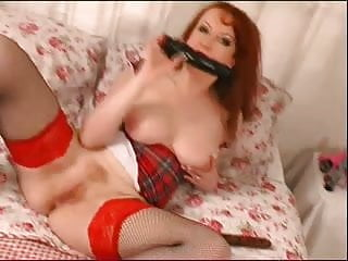 Stunning redheads - Stunning redheaded milf solo