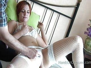 Orgasm headache treatments Horny babe gets hands on orgasm treatment