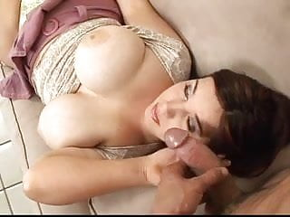 Tit naile Huge titted milf nailed on the couch