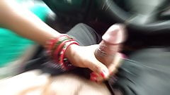 First Time Stepsister Blowjob Brother Dick In Running Car
