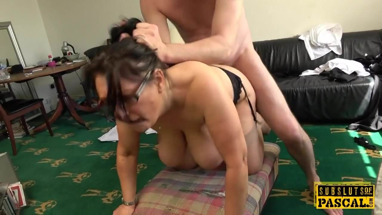 British Big Tits Amateur Doggy
