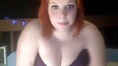 Chubby redhead
